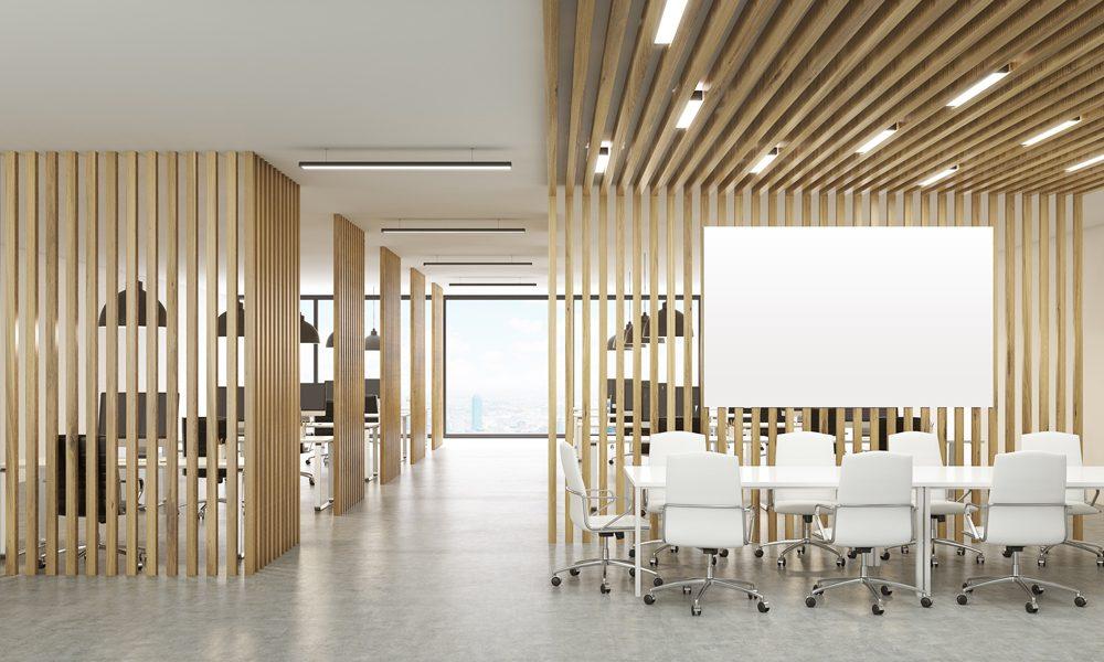 Décoration intérieure, aménagement d'espace professionnel, design d'espace