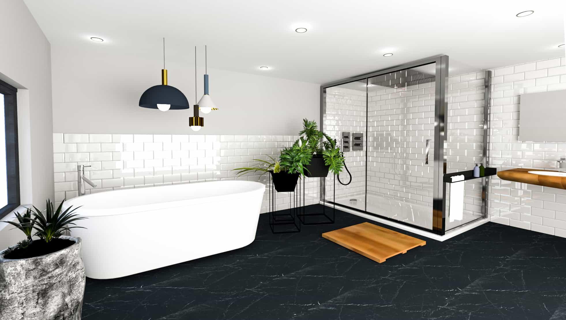 Salle de bain 3D Picture Design