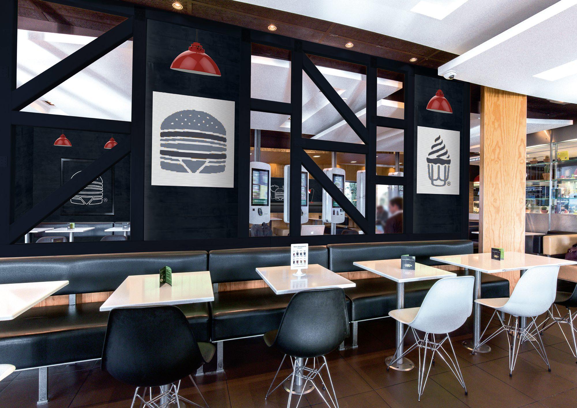 decoration restaurant mc donald's par picture design