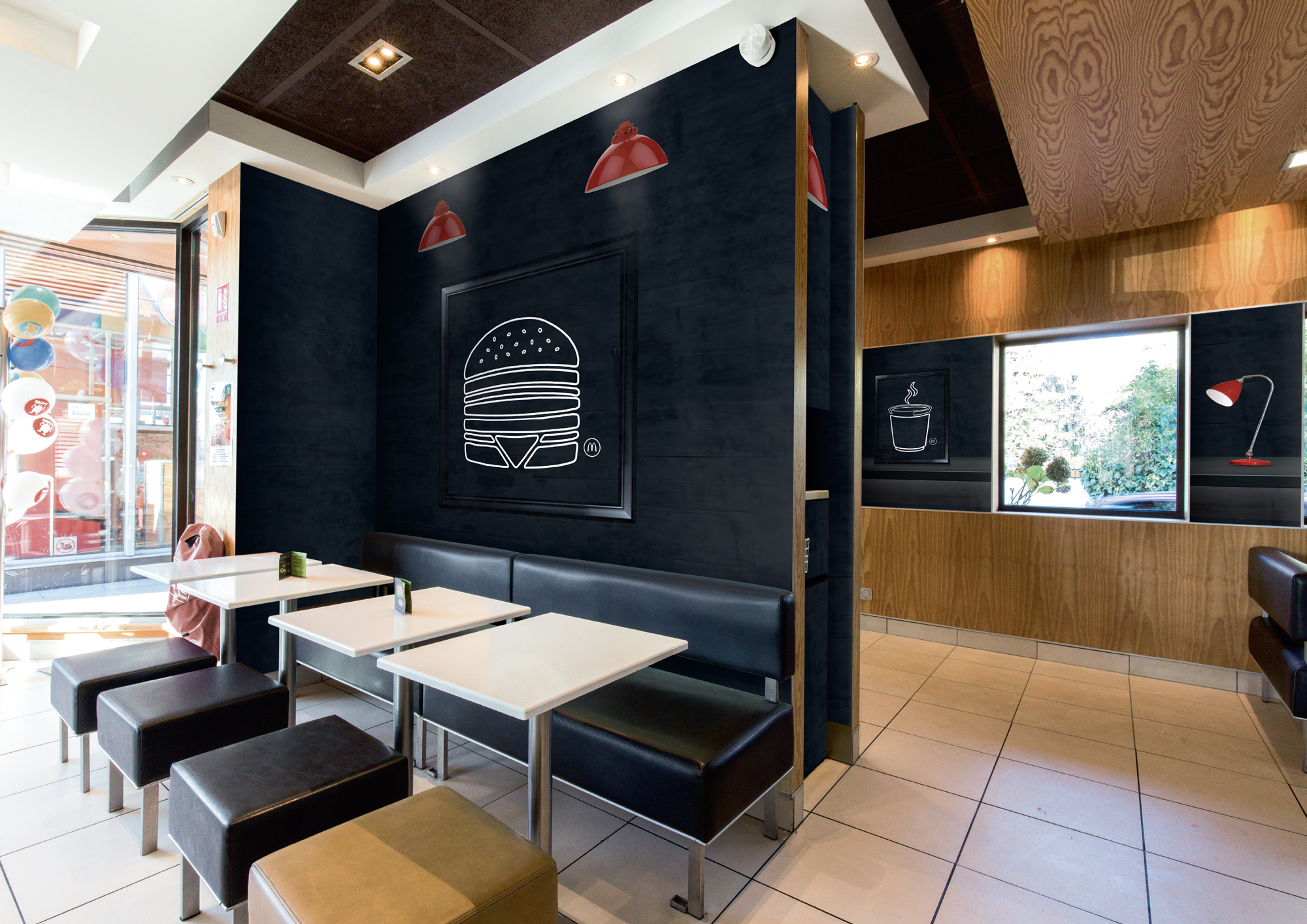 decoration restaurant mc donald's par picture design