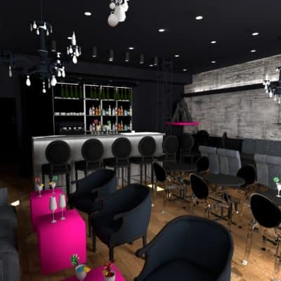 Projet Bar néo-baroque