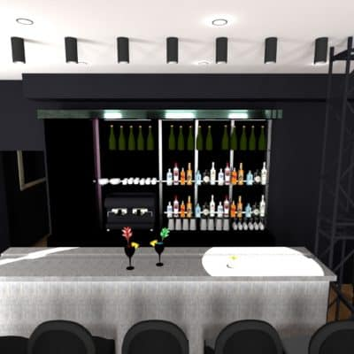 Modification Design de bar