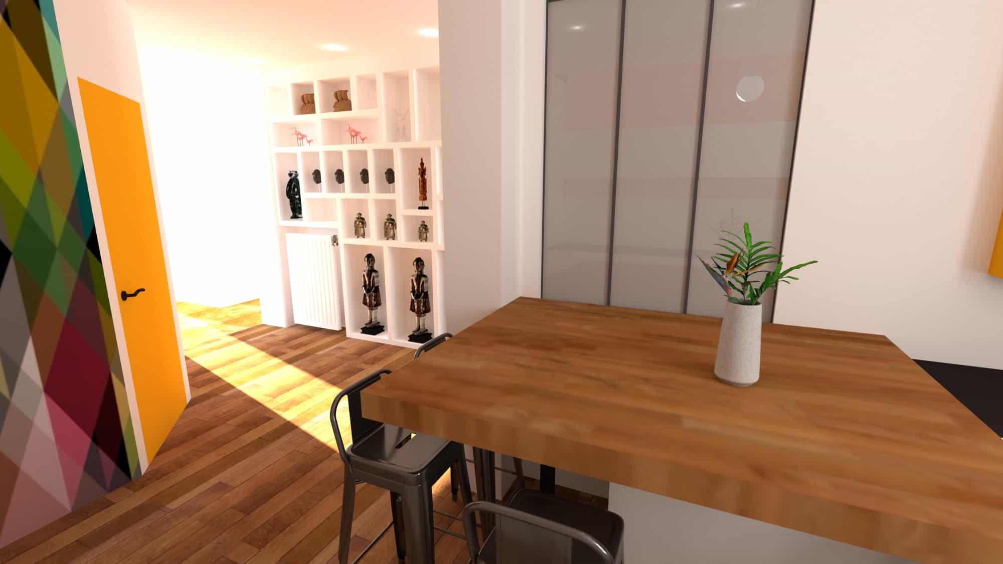 Cuisine 3D Picture Design