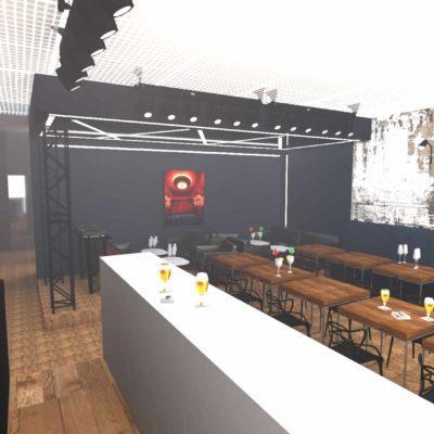 Projet bar avec scène