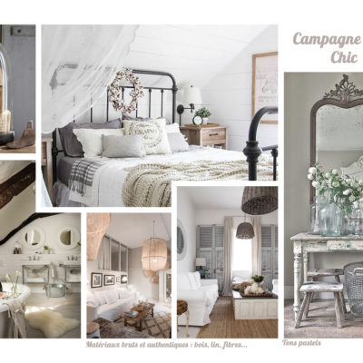 Moodboard Campagne Chic