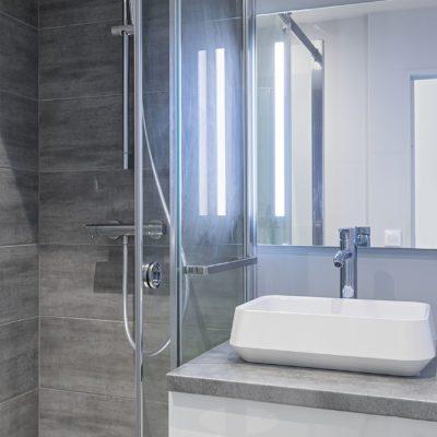 Salle de bain studio Lyon